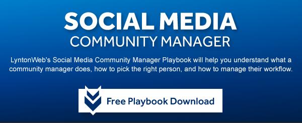 Social Media community manager playbook