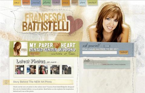 battistelli music website