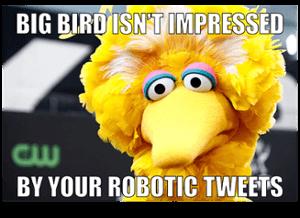 Big Bird Tweets