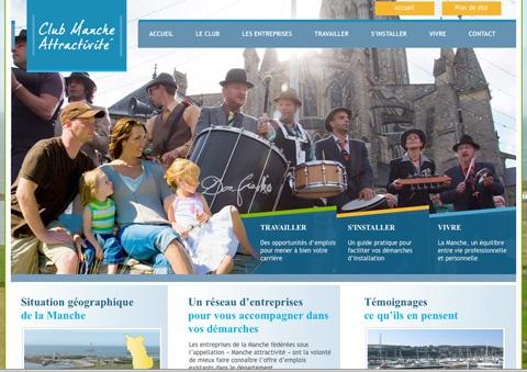 Club Manche Attractivite Travel Website Designs