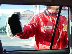gas station attendant