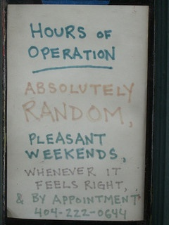 Hours of operation for social media