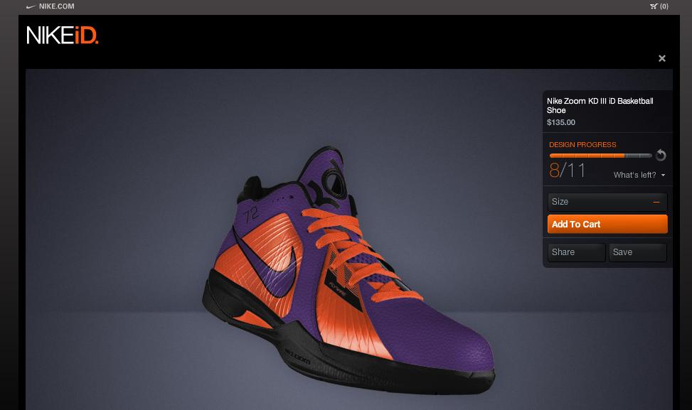 Nike E-Commerce Web Experiences