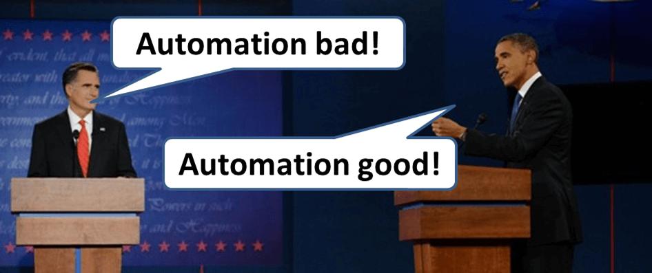 Presidental Debate Social Media Automation A