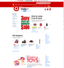target holidays