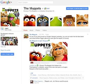 The Muppets on Google