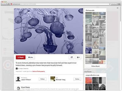 pinterest new look