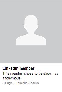 LinkedIn Anonymous