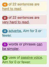 hemingway-grammar