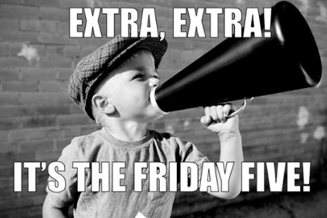 Friday Five LyntonWeb