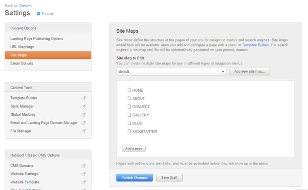Surf Right Sitemaps