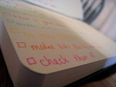 Inbound 2013 Conference Checklist