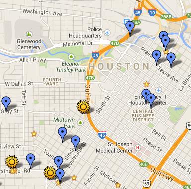 houston restaurant week map