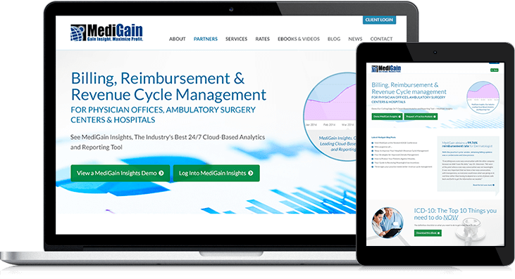 MediGain Website Redesign