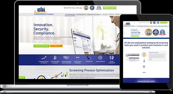 ebi website redesign