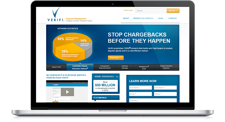 Verifi Website Redesign