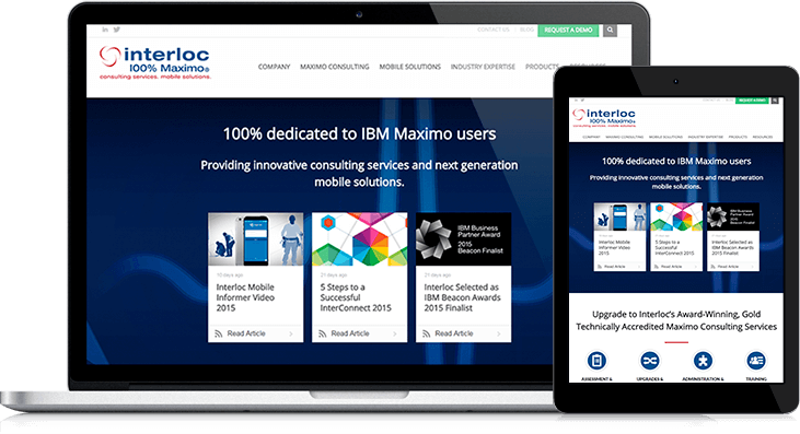 Interloc Solutions Website Redesign
