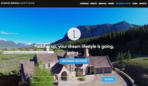 Concierge Auctions Website Redesign