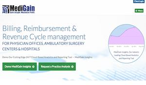Medigain Website Redesign