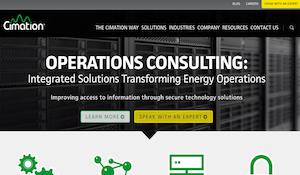 Cimation Website Redesign