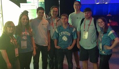 Team LyntonWeb at Inbound 2013