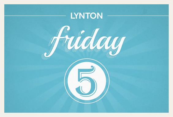 LyntonWeb Friday 5 Inbound Marketing