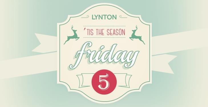 lw_friday_five_holiday_season