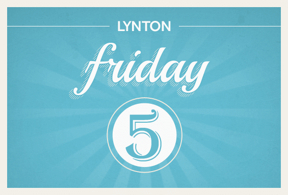The Friday Five: The Latest Web Design Trends, LinkedIn Sponsored Updates, and the CEO Leading the Way