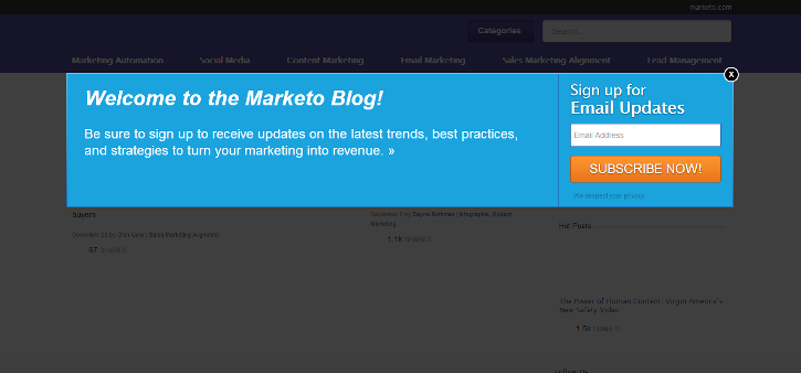 marketo lead generation