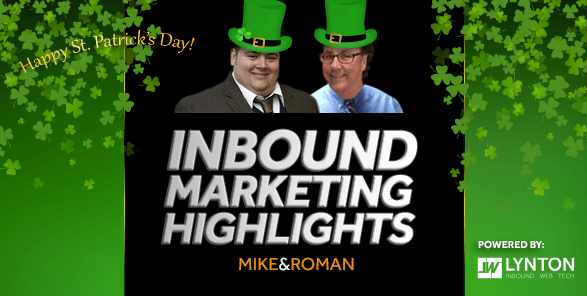 Sunday Inbound Marketing Highlights - Marvel, Voodoo and #BanBossy