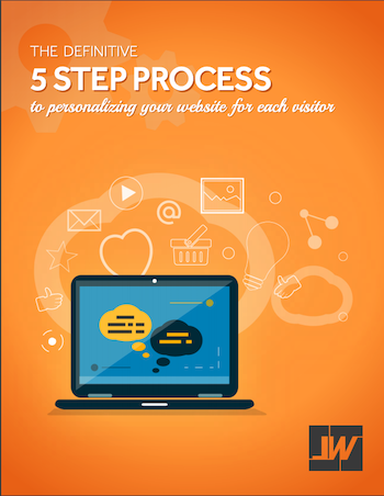 5 step process to personalizing your website