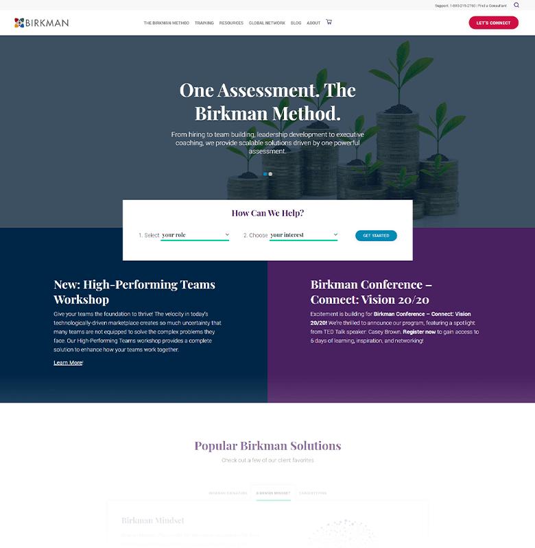 Birkman Homepage
