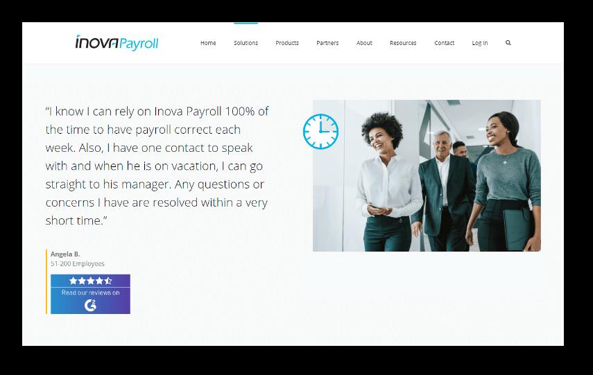Innova Payroll Testimonial