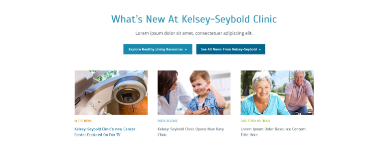 Kelsey-Seybold Resource Module