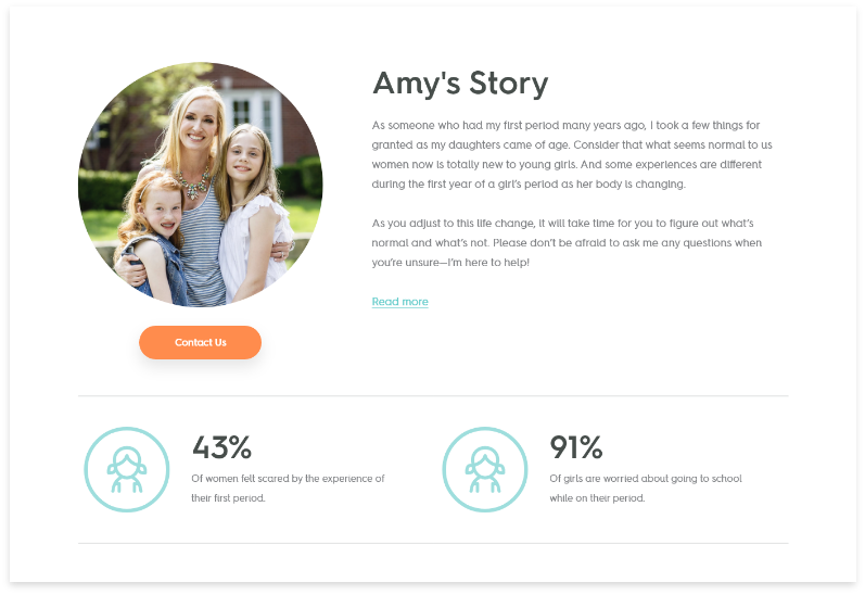 Penny Pack- Amy's Story