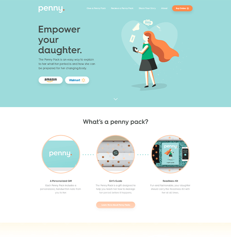 Penny Pack Homepage
