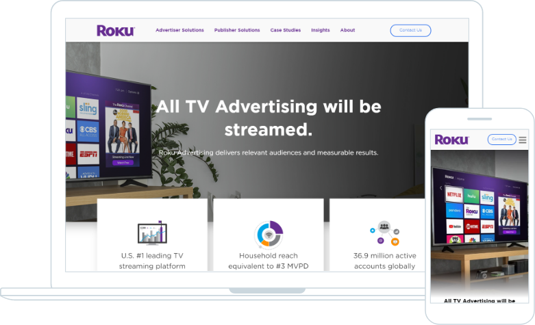 Roku Advertising Responsive Design
