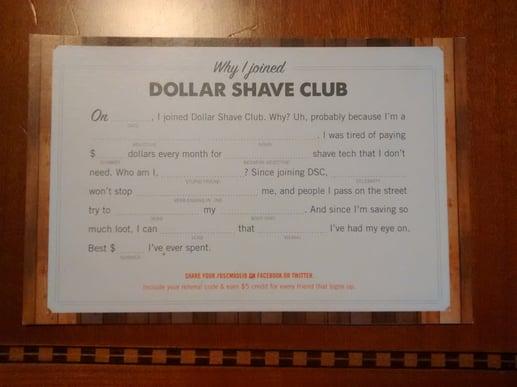 DollarShaveClubPostcard