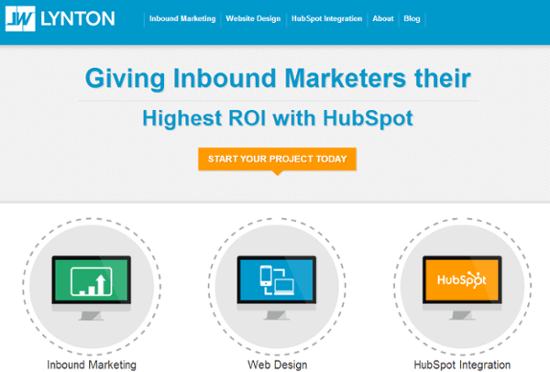 Website personalization example HubSpot Customers.png