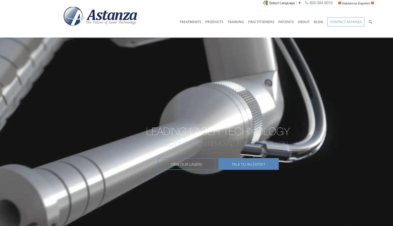 best doctor website design astanza.png