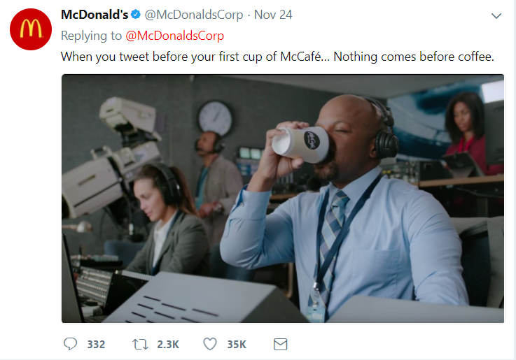 McDonald's Twitter Save