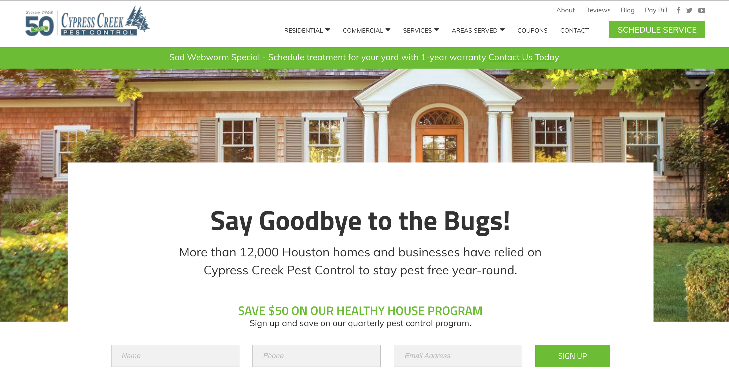 cypress-creek-website