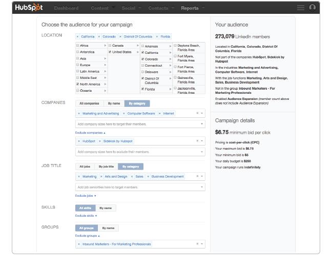 LinkedIn_Create_-_Targeting