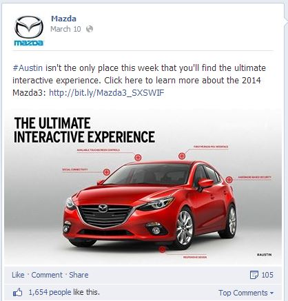 Bad Example of Marketing on Facebook