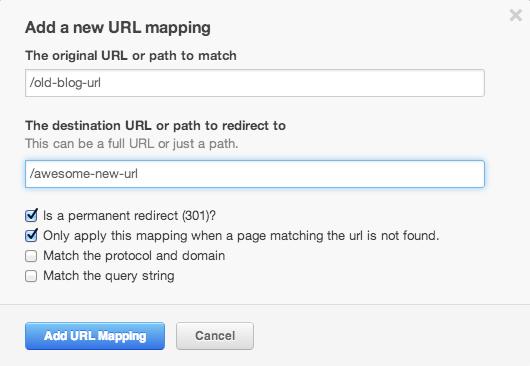 HubSpot URL Mapping Tool