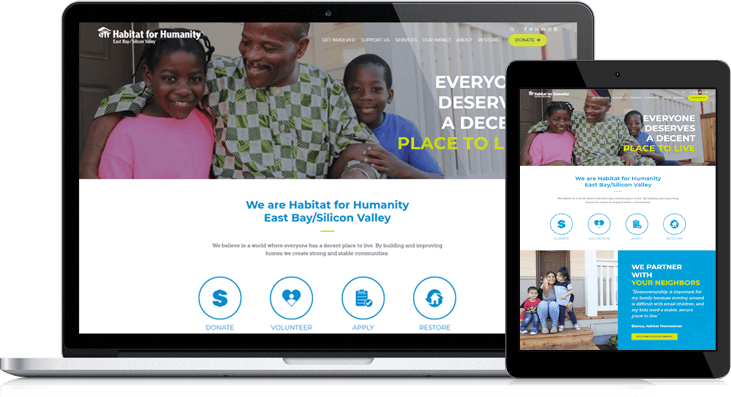 Habitat for Humanity EBSV Website Redesign