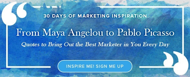 30 days of marketing inspiration