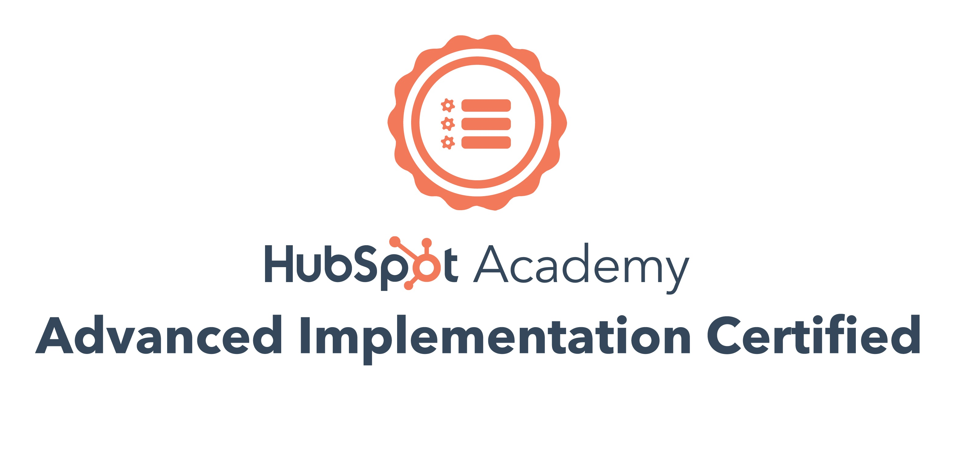 LyntonWeb Awarded Advanced Implementation Certification by HubSpot