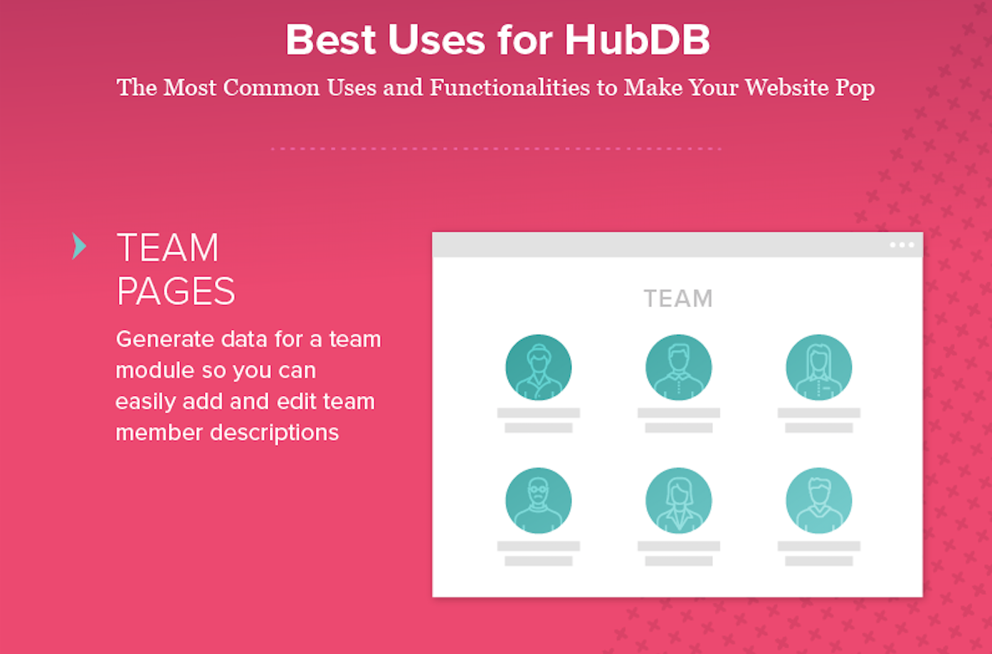 Infographic: Getting to Know HubDB