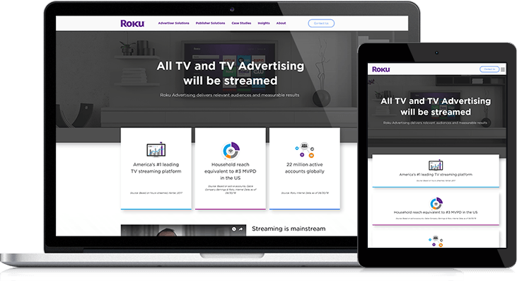Roku Website Redesign